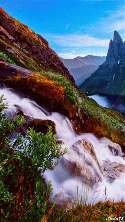 Cascadas Paisajes Gifs