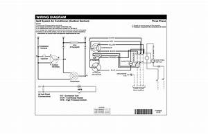 Wiring Diagram Split System Air Conditioner  Outdoor