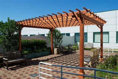 Porch Support Post by Wooden Garden Pergolas Custom Made From Redwood