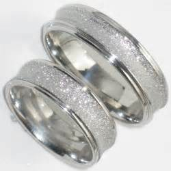 small wedding band his hers 6mm sandblast wedding ring band str383w mens or womens steel ebay