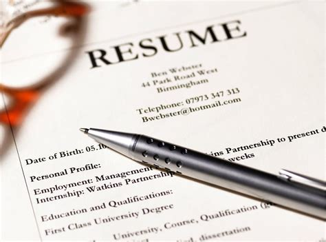 Do Margins On A Resume Matter by Settings For Resume Margins
