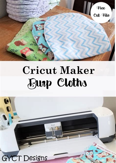 Check out our list of free svg & png downloads! Free Baby Burp Cloth Pattern + SVG Cut File   Sew Simple Home