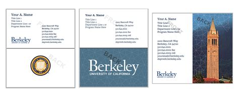 uc berkeley business card template uc print storefront business cards and stationery
