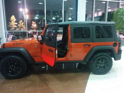jeep wrangler sunset orange willys unlimited in sunset orange jeep wrangler forum
