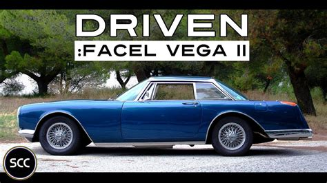 FACEL VEGA II 1962 - Test Drive in top gear | Engine sound ...