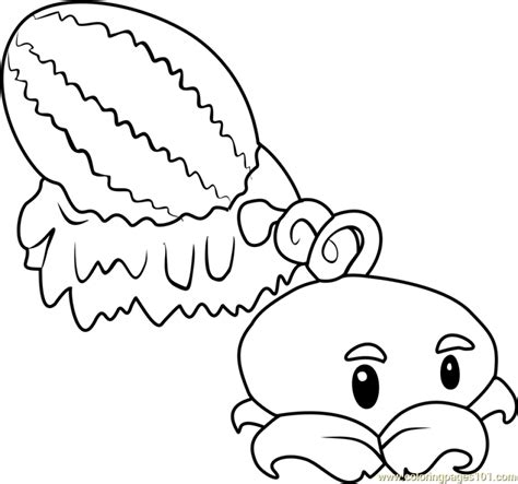 plants  zombies coloring pages   kids