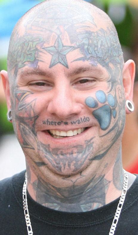 afrenchieforyourthoughts face tattoos pictures gallery