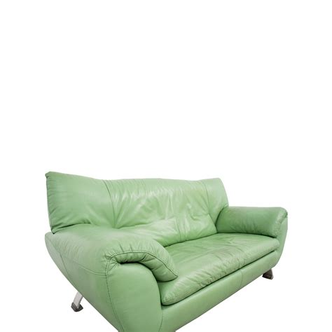 Nicoletti Sofa by 74 Nicoletti Home Nicoletti Leather Green Sofa Sofas