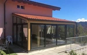 Fermer Une Terrasse Couverte : peut on fermer une terrasse en bois avec de l 39 alu ~ Melissatoandfro.com Idées de Décoration