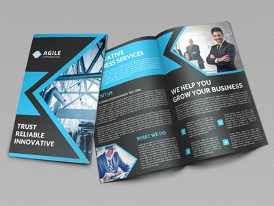 Innovative A4 Bi Fold Brochure Template Free Creative Corporate Bi Fold Brochure Vol 16 By Jason Lets