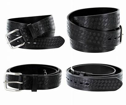 Leather Belt Wide Uniform Basketweave Belts Casual