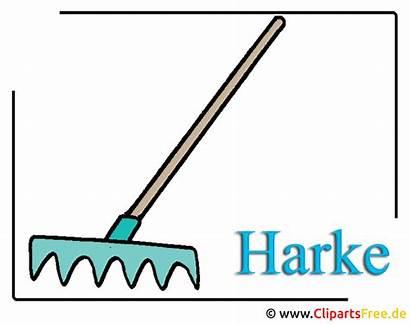 Clipart Harke Gartenwerkzeug Rake Bauernhof Garden Gardening