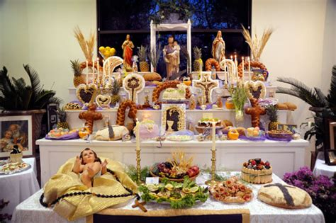 st josephs altar  st ignatius loyola catholic