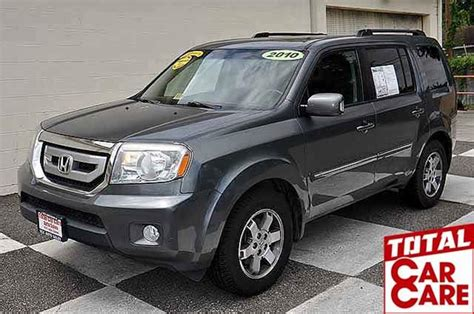 2010 Honda Pilot 4x4 Touring 4dr Suv W/navi And Dvd In