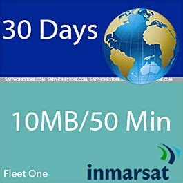 Fleet one offers a card designed to help keep your drivers on the road and ensure you've got the reports you need come tax time. Inmarsat Fleet One - 10MB / 50 Minutes Coastal Prepaid SIM Card