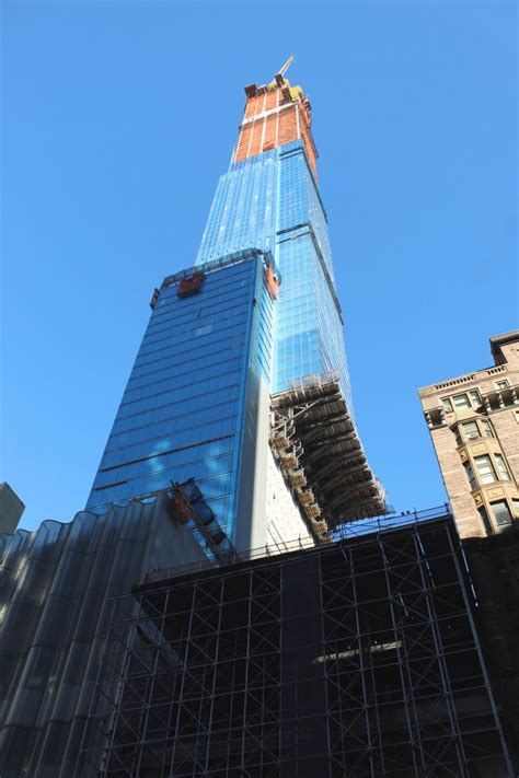 Central Park Tower Approaches 1550 Foot Pinnacle Nears