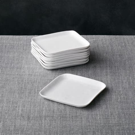set   mercer square appetizer plates reviews crate