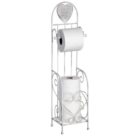 shabby chic toilet roll holder shabby chic heart toilet roll holder bathroom homesdirect365