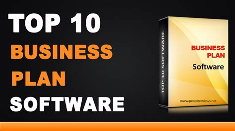 Best Business Best Business Plan Software Top 10 List