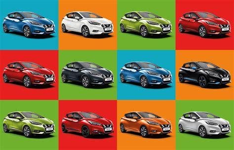 nouvelle nissan micra colorez votre vehicule selon votre