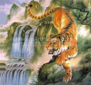 Famous Tiger Painting