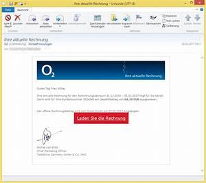 Gefälschte O2 Rechnung : ihre aktuelle rechnung von o2 o2 oder info ~ Themetempest.com Abrechnung