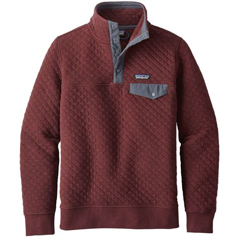 patagonia womens cotton quilt snap  pullover jacket  sale powder ski shop