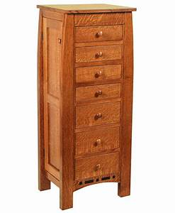 Boulder Creek Jewelry Armoire Amish Direct Furniture