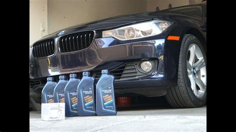 2012 Bmw 3 Series 328i Oil Change