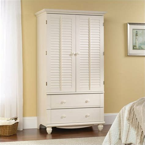 White Wardrobe With Drawers by White Wardrobe Armoire Storage Armoir Bedroom Closet