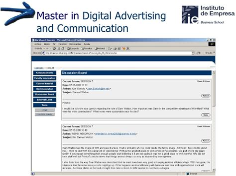 Masters In Digital Marketing by Master In Digital Advertising Communication Ie Business