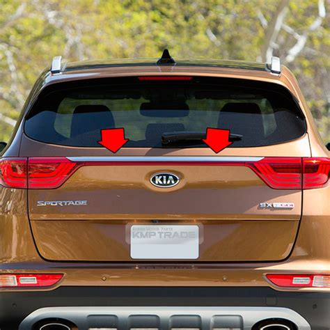 Oem Parts Rear Trunk Tailgate Garnish Led Type For Kia