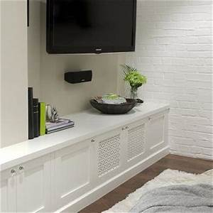 built in media cabinet design ideas With built in media console