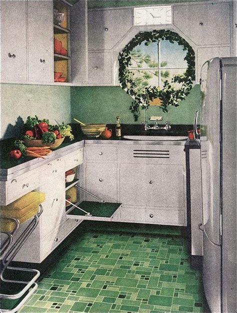 retro kitchen floor the beautiful world of 1940s linoleum flooring the 1935