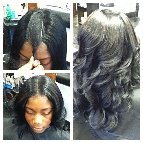 Partial Weave Sew In Hairstyles by Partial Weave Hair Etc By Vee Hair Designs Hair