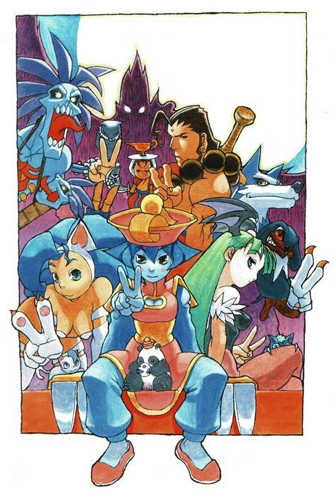 Darkstalkers Character Art Manga Art Art
