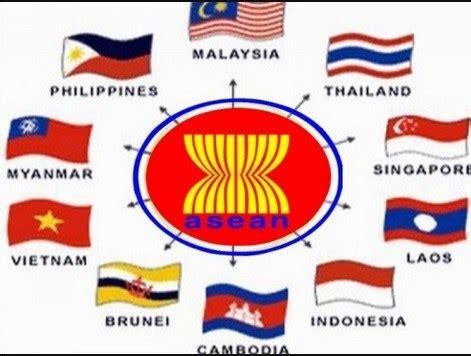 daftar negara asean profil bendera negara anggota