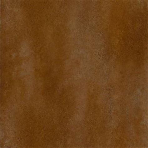 trafficmaster ceramica 12 in x 12 in russet brown
