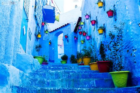 Travel In Morocco Chefchaouen Photos Of The Blue City