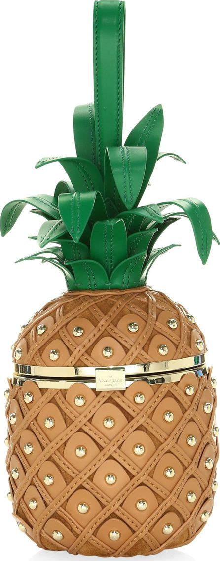 kate spade leather pineapple bag pineapple bag pineapple accessories summer handbags