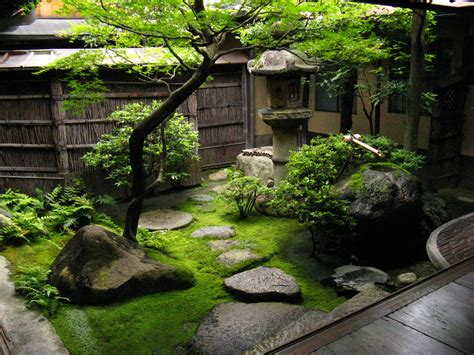 even the smallest japanese garden is a of