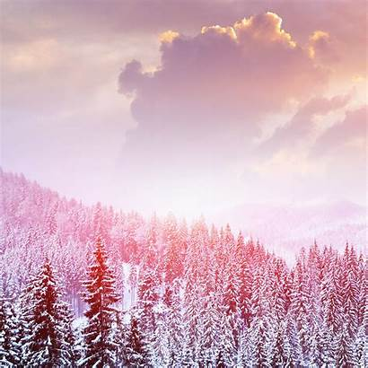 Winter Snow Nature Mountain Iphone Ipad Papers