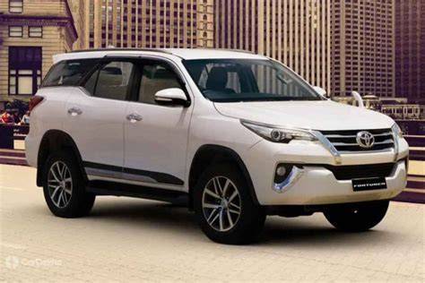 toyota fortuner launched prices start  rs  lakh