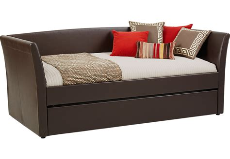 white storage bed king brianne brown daybed beds wood