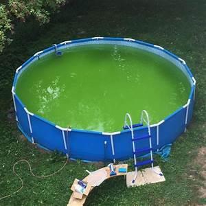 Poolwasser Ist Grün : wie bekomme ich den boden sauber wasser garten pool ~ Watch28wear.com Haus und Dekorationen