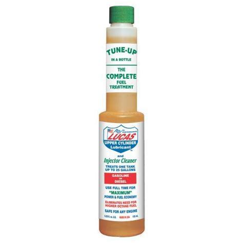 Lucas Oil Fuel Treatment - Upper Cylinder Lubricant ...