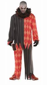 Men's Evil Clown Costume - Adult Costumes