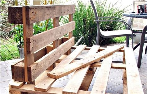 Banc De Jardin En Palette by Banc De Jardin En Palettes Un Choix Respectueux De L