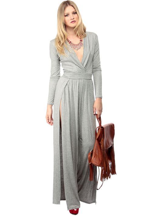 gray  dressy palazzo jumpsuit  cicihot sexy dresses