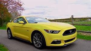 2015 Mustang GT 5.0 V8 0-60 MPH Review - Highway MPG Road Test - YouTube